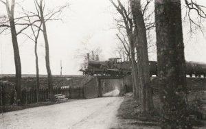 Spoorweg onderdoorgang bij Zuidhorn